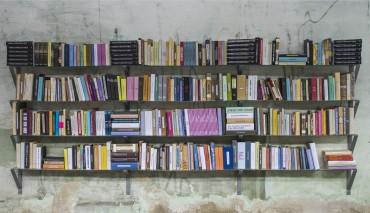 Biblioteca para lomo-lectores