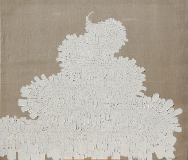Subida al Monte Carmelo (Climbing the Monte Carmelo) , from the series Pinturas blancas (White Paintings)