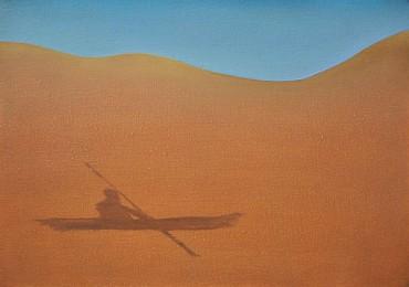 Sombra de un barquero en el desierto (The Bargerman's Shadow on the Desert)