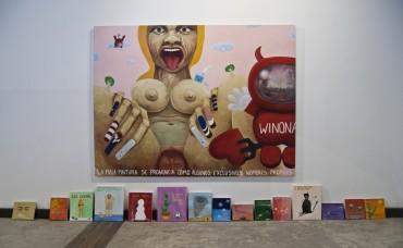 """De la Serie """"La mala pintura se pronuncia como algunos exclusivos nombres propios: Winona"""""""